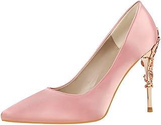 BalaMasa Womens APL12204 Pu Heeled Sandals