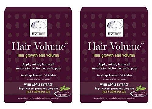 - New Nordic Hair Volume | 30s | - SUPER SAVER - SAVE MONEY by New Nordic Pharmabrands Ltd