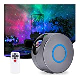 Galaxy Projector with Nebula Cloud, Remote Control Star Projector Upgrade 7 Nebula Colors 15 Lighting Modes, Night Light Projector for Baby, Kids, Bedroom, Game Room, Christmas, Valentine's Day
