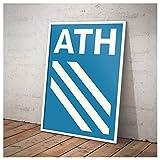Athens City Serie Modernistisches geometrisches