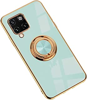 Hicaseer Case for Galaxy A42 5G,Ultra-Thin Ring Shockproof Flexible TPU Phone Case with Magnetic Car Mount Resist Durable ...