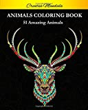 Animals Adult Coloring Book: Stress Relieving Animal Designs. Coloring Book For Adult with Mandala Animals. (Lions, Elephants, Owls, Horses, Dogs, Cats, and Many More!)