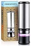 Level Up Way - 2 in 1 Hydrogen Water Bottle Generator - SPE PEM – Ozone Generator – Smart Water Bottle – 11 Ounce