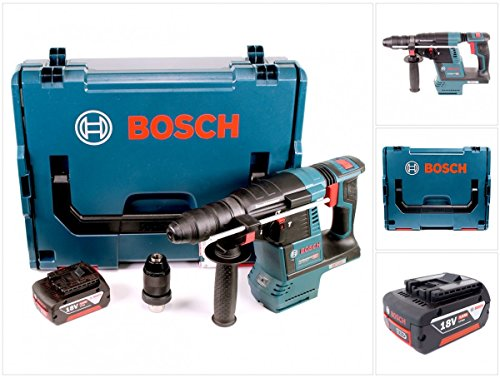 Bosch GBH 18V-26 F Akku Bohrhammer 18V 2,6J brushless SDS plus + 1x Akku 5,0Ah + L-Boxx - ohne Schnellladegerät