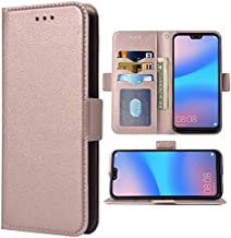 Phone Case for Huawei P20 Lite Folio Flip Wallet Case,PU Leather Credit Card Holder Slots Full Body Protection Kickstand P...