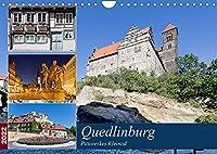 Quedlinburg - Pittoreskes Kleinod (Wandkalender 2022 DIN A4 quer): Quedlinburg - Einst Lieblingspfalz der Ottonen heute Weltkulturerbe und Besuchermagnet (Monatskalender, 14 Seiten )