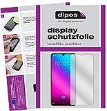 dipos I 2X Schutzfolie klar kompatibel mit Vivo V11 Folie Bildschirmschutzfolie