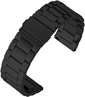Ceramic Strap Band for Huawei Smart Watch GT2 and GT / GT2 Pro / GT 2e / Honor Magic 2 - Black Matt