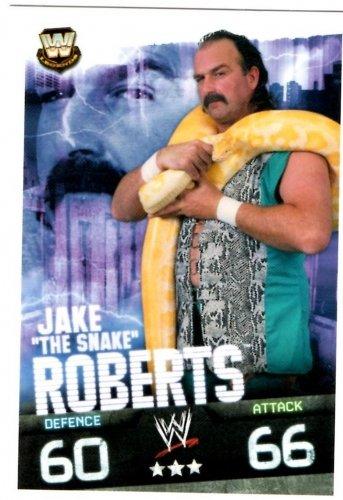 Slam Attax Evolution Jake The Snake Roberts Legend