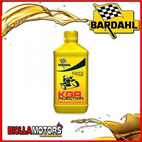 226040 OLIO BARDAHL KGR INJECTION E CARBURATORE LUBRIFICANTE PER MOTO 2T 1LT