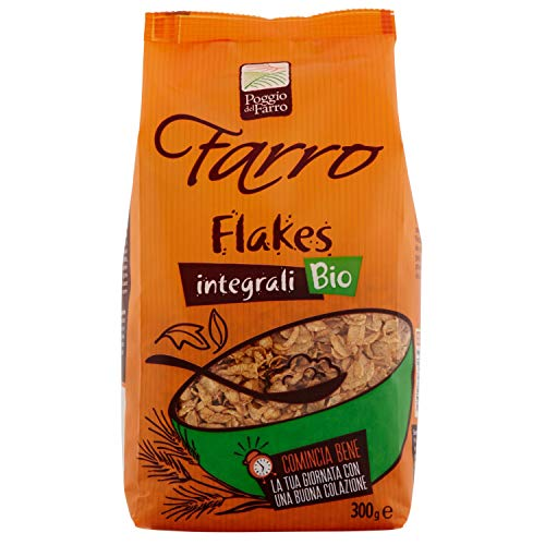 Farro Bio Integrali Fiocchi di Farro Croccanti - 300 gr