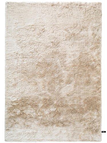 Benuta Whisper Shaggy Hochflor-Teppich | Langflor-Teppich in Beige für Schlafzimmer und Wohnzimmer | 240x340 cm