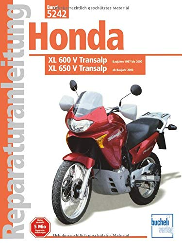 Honda XL 600 V TransalpBj 1997-2000 / XL 650 V Transalp ab Bj 2000 (Reparaturanleitungen)