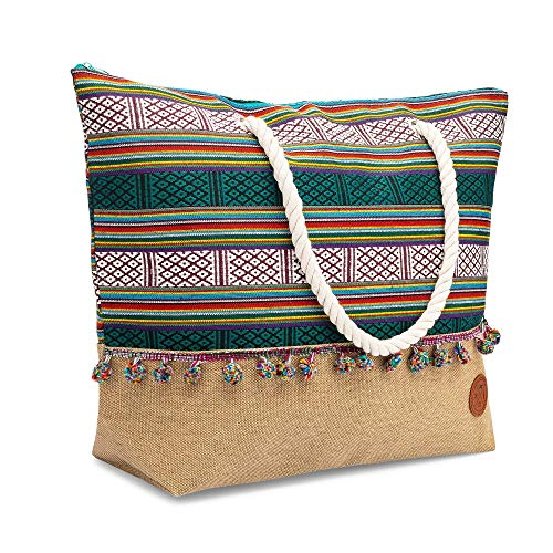 Amazon.com: Beach Bag - Large Beach Bag to Tote Your Beach Wears In One Carry-All Bag: Shoes
