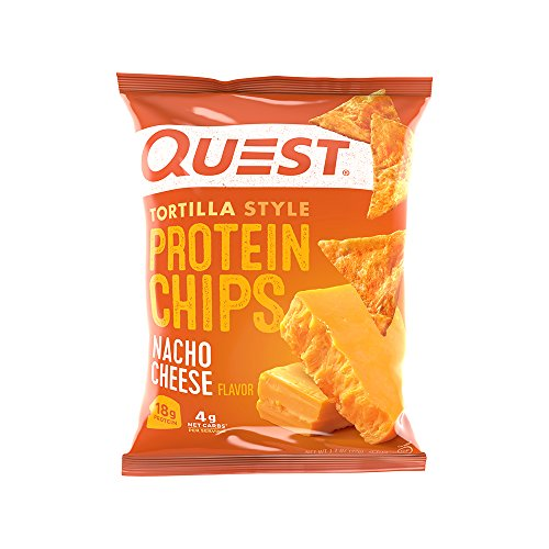Quest Nutrition Tortilla Style Protein Chips Nacho Cheese 32 Gram 1.1 Ounce 30 g