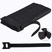 【 Amazing Environmentally Reusable Cable Straps】Newlan's Reusable Cable ties are made from durable nylon adhesive materials can be used multiple times, much more environmentally friendly than old zip ties. 【 Versatile & Multipurpose】This wire tie is...