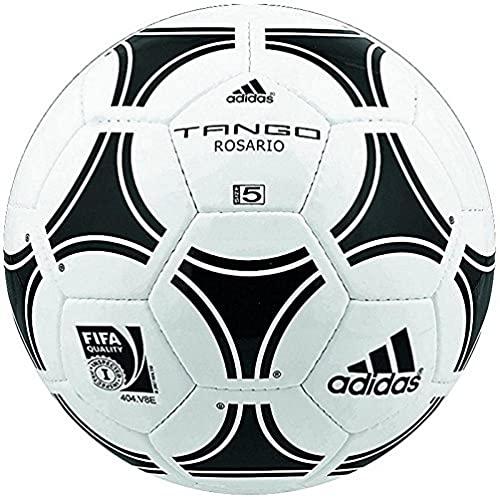 adidas Tango Rosario Balón, Unisex Adulto, Blanco/Negro, Talla Única