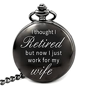 Pocket Watch With Gift Box Gag For A Men Who Has Everything