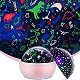 wetepuxi Cumpleaños Dinosaurios Regalo Bebe 1 2 3 Años, Proyector Estrellas Juguete Niño 2 3 4 5 6 7 8 Años Luz Bebe Nocturna Dinosaurios Juguetes Bebes 1 2 3 4 Años Planetario Proyector Estrellas