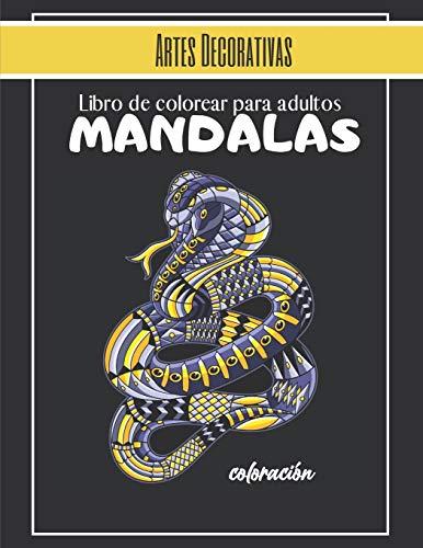 baratos y buenos Libro para colorear para adultos-Arte decorativo-Marmandala: Big Mandala… calidad