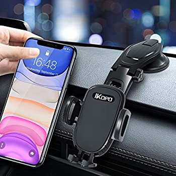 Ikopo Universal Cell Phone Holder for Car Dashboard Stand