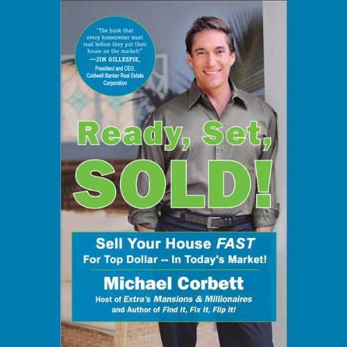 Ready, Set, Sold! audiobook cover art