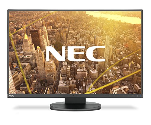 NEC MultiSync EA245WMi-2 60,96cm 24Zoll LCD Monitor mit LED Hintergrundbeleuchtung IPS Panel 1920x1200 Schwarz