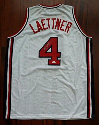 Christian Laettner Autographed Signed 1992 USA Dream Team Olympics Jersey JSA