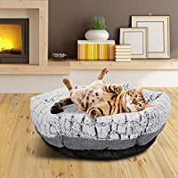 Dog Bed Hexagon Machine Washable Ultra Soft Fabric Pet Bed