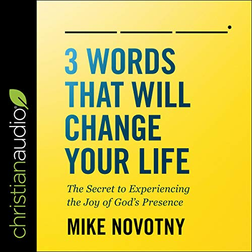 3 Words That Will Change Your Life cover art