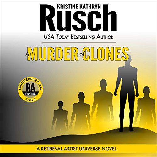 A Murder of Clones audiobook cover art