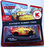DISNEY PIXAR CARS 2 - MIGUEL CAMINO with Synthetic Rubber Tyres. USA Only release.
