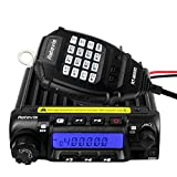 Retevis RT-9000D Mini Mobile Radio,Radio Transceiver,VOX CTCSS/DCS Keyborad Lock LCD Display,Long Range Two Way Radio for Commercial Business Construction Service Industry (1 Pack)