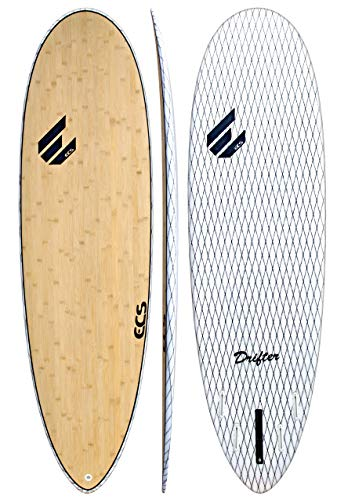 ECS Boards – Drifter V-Flex Short Surfboard – Shortboard Surfing Board for Longboarders - 6'10