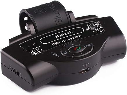 66e10e04214 NEWTRENDING Steering Wheel Bluetooth Handsfree Car Kit Wireless Phone  Speaker in-car Handsfree Speakerphone for