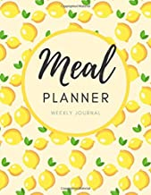 Meal Planner Weekly Journal: Weekly Menu Planner & Shopping List Workbook, Diet Slimming Weight Loss Diary, Special Dietary Requirements Notebook ... Grocery List, Food Planner, Dietary Journal