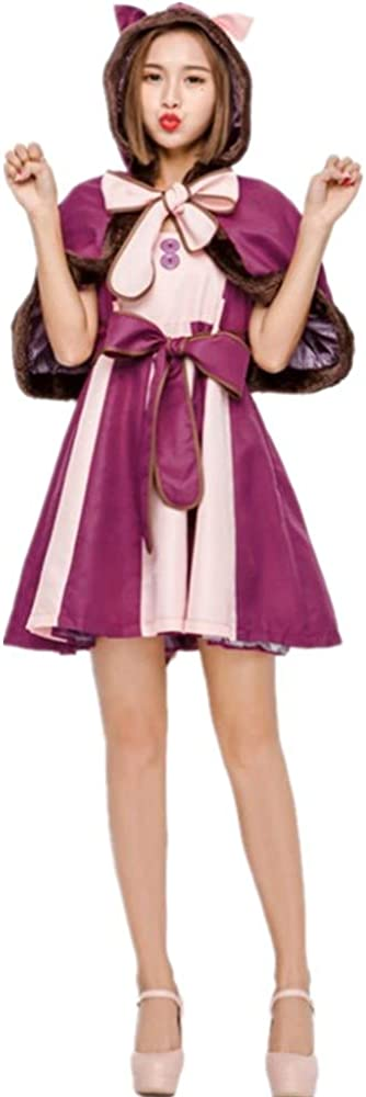 Product Adult Female Cosplay Costume Alicery Co Luxury Smiley Cat Dress