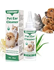 Dog Ear Cleaner,Ear Cleaner for Dogs Wash,Stop Itching, Head Shaking & Smell,Ear Drops for Dogs&Cats,Dog Ear Infection Formula