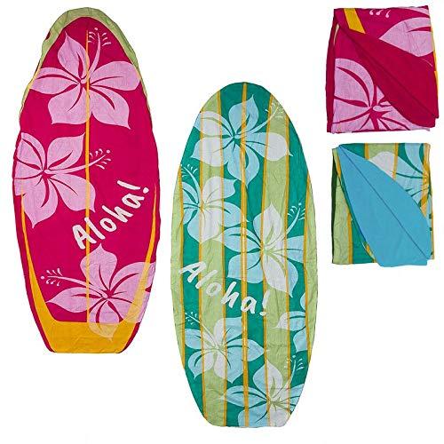 VidalRegalos Pareo de Playa con Toalla x2 Tablas Surf 72x180 cm