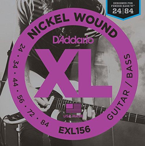 D'Addario EXL156 Juego de Cuerdas, 24-84
