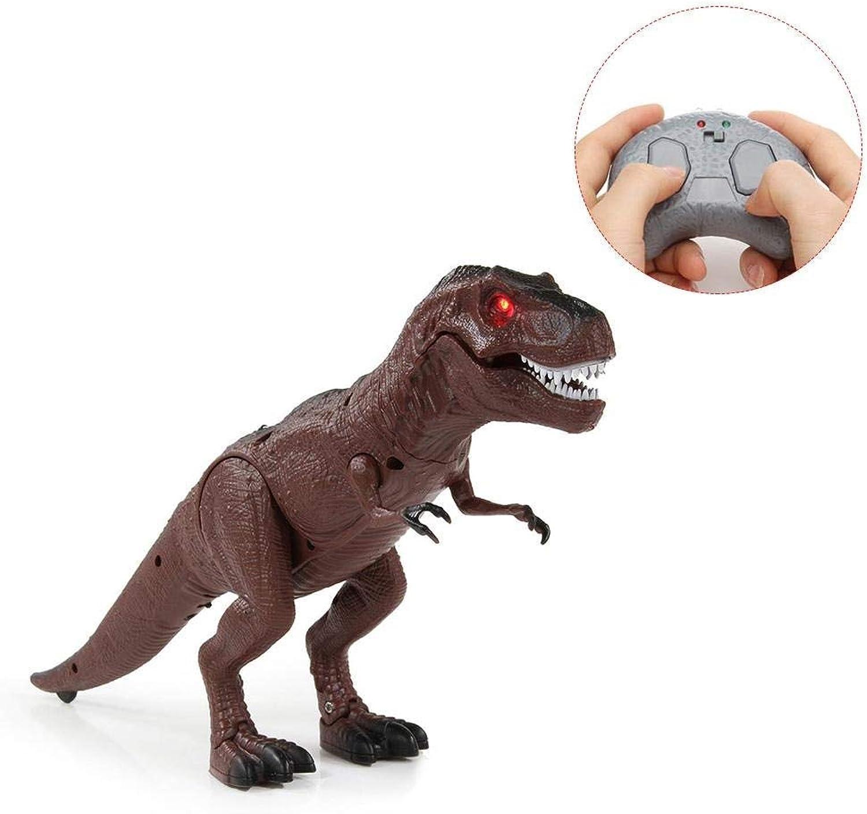 Generic Walking Remote Control Tyrannosaurus Dinosaur Christmas Toy Light Sound Action Figure Infrared
