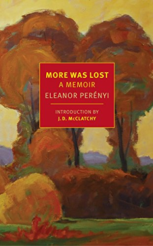 Image of More Was Lost: A Memoir (New York Review Books Classics)