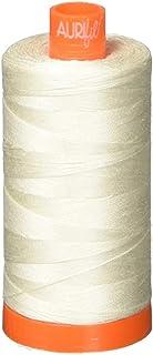 Aurifil A1050-2311 Mako Cotton Thread Solid 50WT 1422Yds Muslin Three Pack