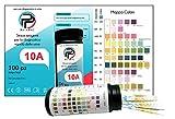 Test Urine Rapido 100 tamponi per diagnosi di 10 parametri in urina: chetone infezioni leucociti nitriti Urobilinogeno PH Glucosio Proteine Peso Strisce