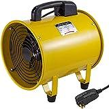 Ventilador Profesional para Construcción Ventilador de Piso Industrial 220V Ventilador de Tambor (16 Con Tubo)