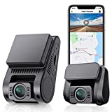 VIOFO Dual Dash Cam, Built-in 16GB eMMC Storage, 2K 1440P 60fps+1080P 30fps Front and Rear Dash Camera with Wi-Fi GPS, Parking Mode, Emergency Recording (A129 Plus Duo+Built-in 16GB)