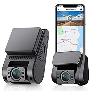 VIOFO Dual Dash Cam Built-in 16GB eMMC Storage 2K 1440P 60fps+1080P 30fps Front and Rear Dash Camera with Wi-Fi GPS Parking Mode Emergency Recording  A129 Plus Duo+Built-in 16GB