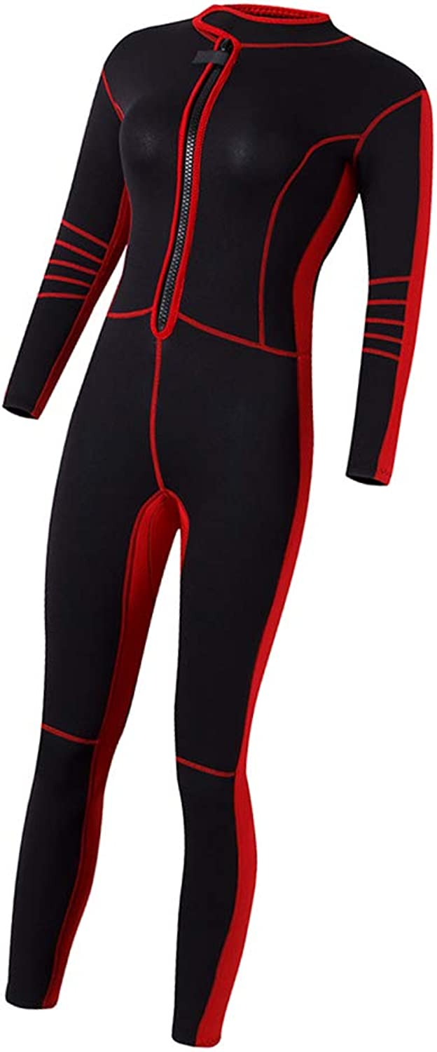 Kesoto Full Body Cover Thin Wetsuit, Long Sleeves Sport Dive Skin Suit, for Swimming, Scuba Diving, Snorkeling for Women & Teens Black