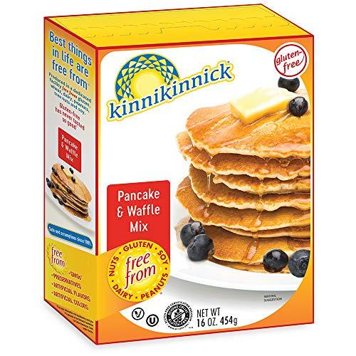 Kinnikinnick Gluten Free Pancake & Waffle Mix, 16oz/454g (Pack of 6)