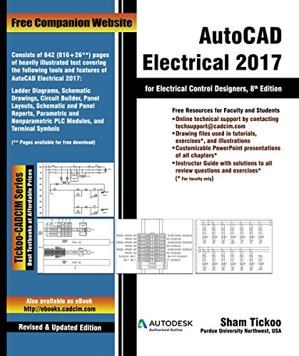 AutoCAD Electrical 2017 for Electrical Control Designers (English Edition)